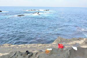 2014年09月22日 三浦半島, 城ヶ島, 長津呂崎, 磯釣り