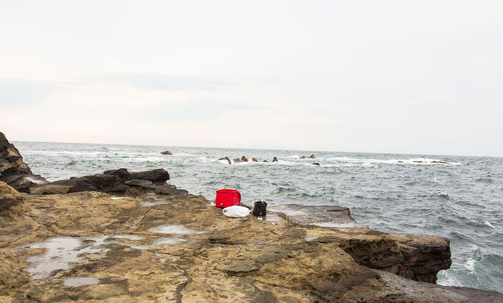 三浦, 城ヶ島, 長津呂崎, 磯釣り