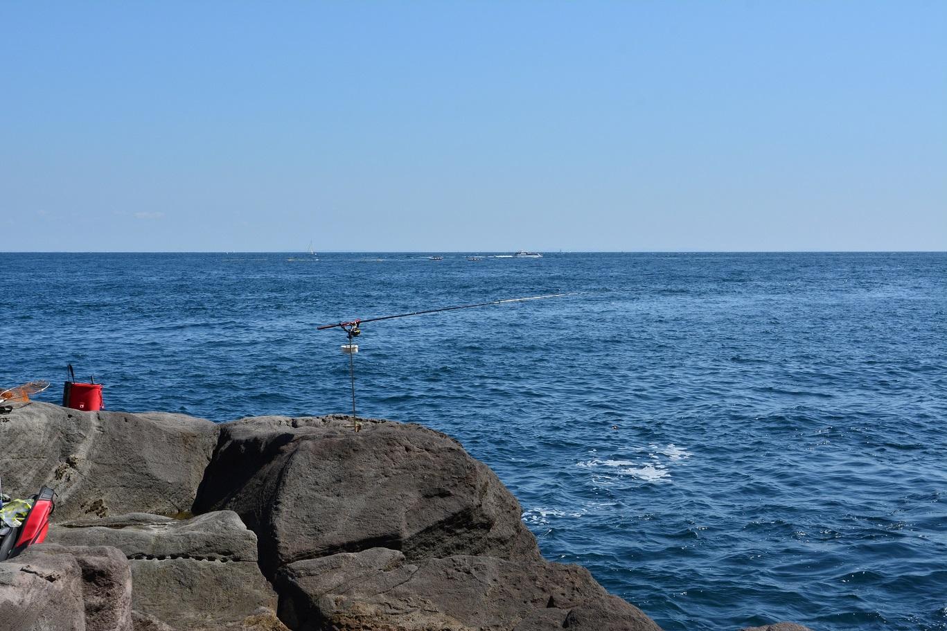 2014年09月14日 真鶴, 釜の口, 磯釣り