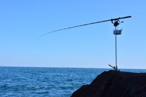 2014年10月19日 真鶴, 釜の口, 磯釣り