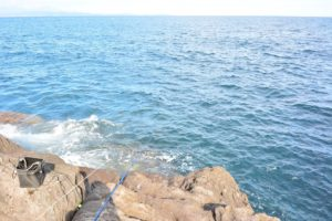 2014年11月03日 真鶴, 釜の口, 磯釣り