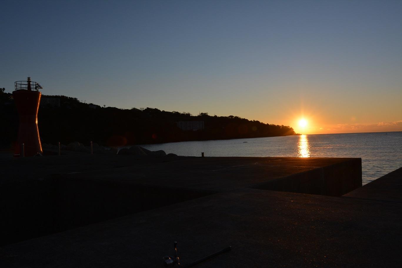 2015年12月29日 湯河原, 福浦港, 磯釣り