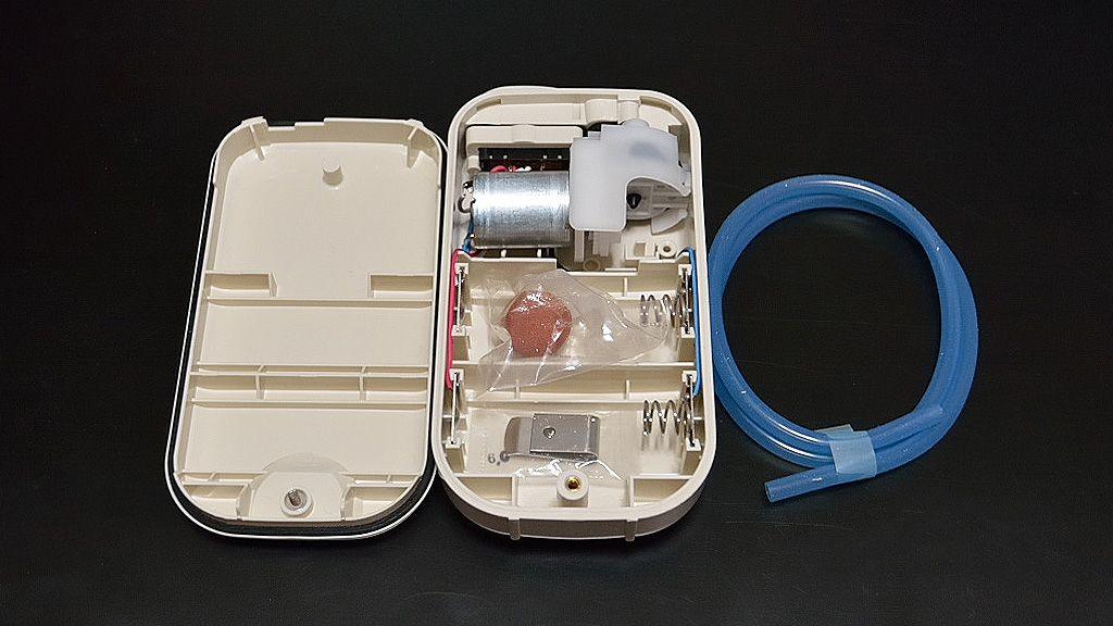2016年12月04日 開封後, YH-708B, Hapyson, 乾電池式, エアーポンプ