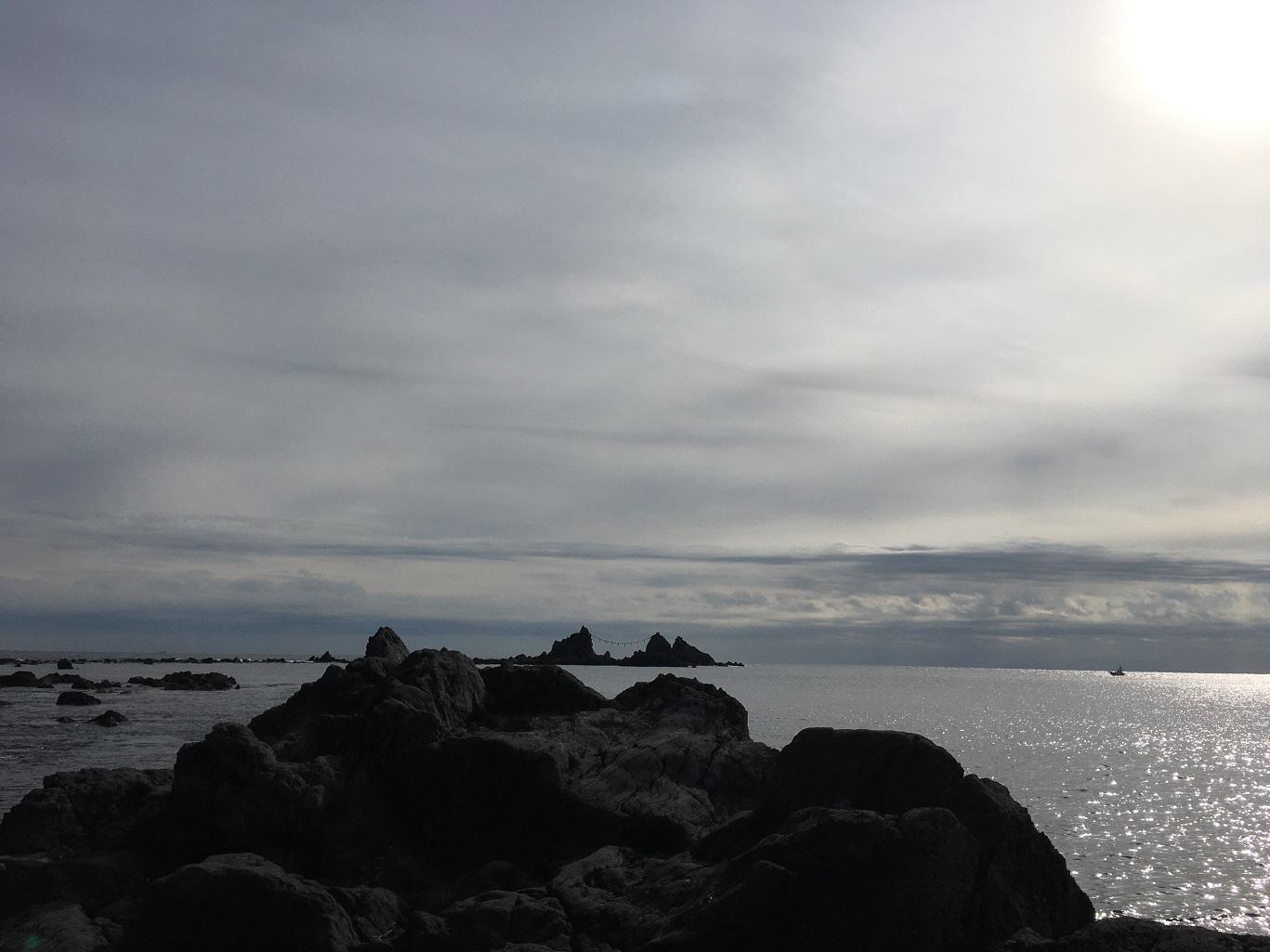 2016年12月25日 真鶴, 三ツ石, 磯釣り