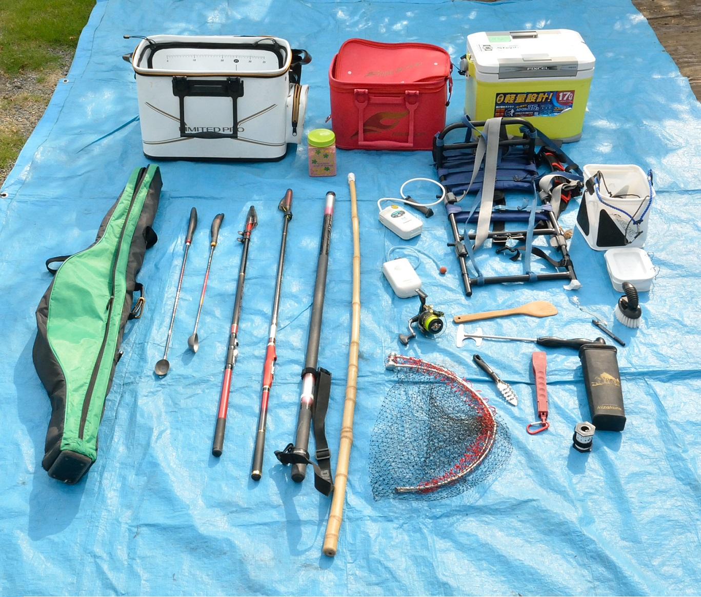 2017年08月27 釣り道具一式