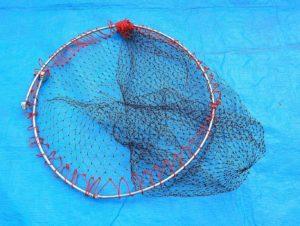 2017年08月27 釣り道具, タモ網