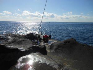 2017年12月18日 三浦半島, 城ヶ島, 磯釣り