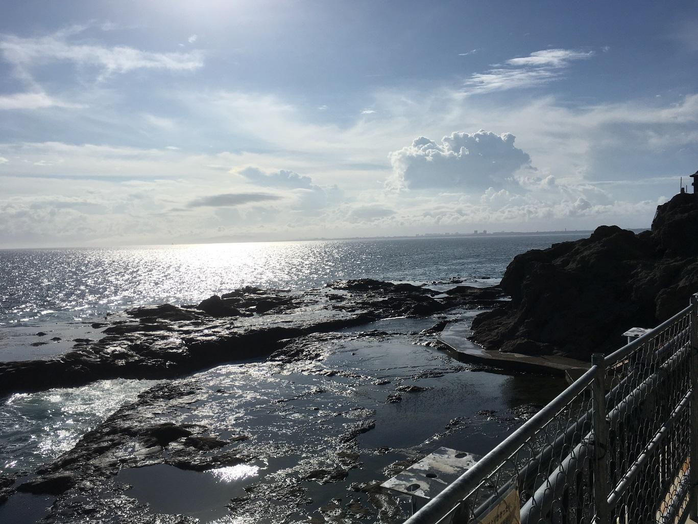 2018年07月09日 江の島, 裏磯, 観光