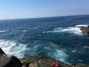 2018年08月27日 三浦半島, 城ヶ島, 猪子島前, 磯釣り