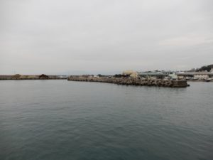 2018年10月15日 大磯, 大磯港, 堤防釣り